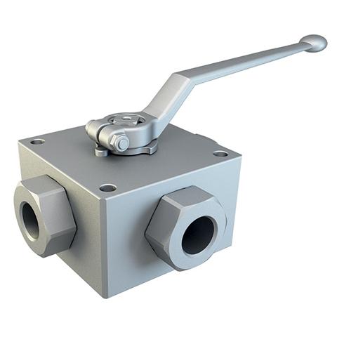 4-WAY High pressure ball valves