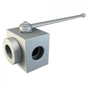 3-WAY High pressure ball valves