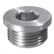 Drain filling plug with hex slot