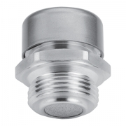 Oil filling plug with breather