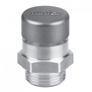 Oil filling plug and breather