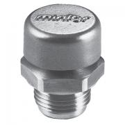 Breather plug with valve